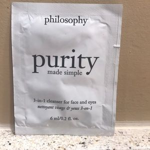 ⚡️FINAL PRICE⚡️ Philosophy Purity Made Simple